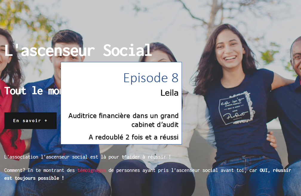 leila episode 8 - ascenseur social