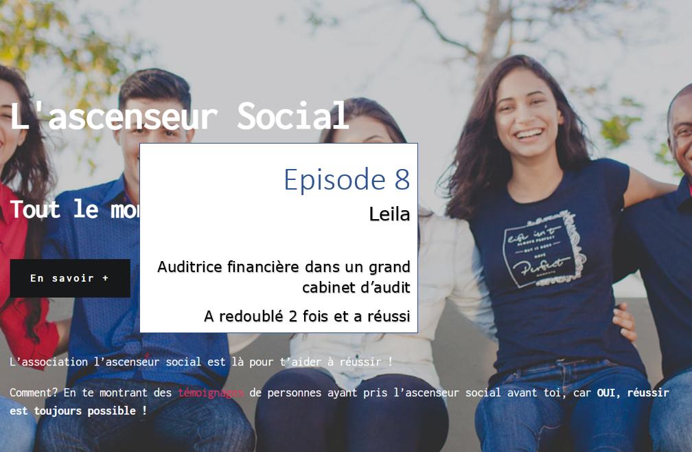 leila episode 8 - ascenseur social