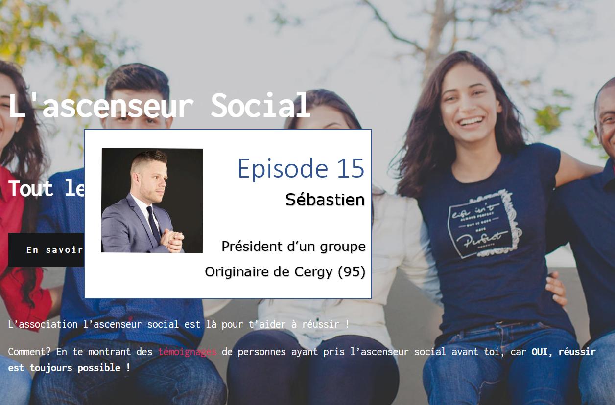 Sebastien weelodge ascenseur social